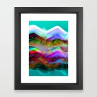 Ocean-Race  No21 Framed Art Print