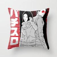 Print No11 Throw Pillow