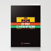 8-Bit Champion Stationery Cards