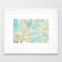 Soft Spring Framed Art Print