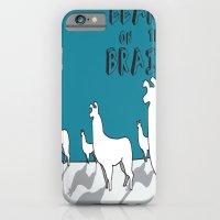 Llama on the Brains 2 iPhone 6 Slim Case
