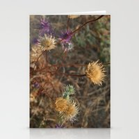 The Last Color of Fall Stationery Cards