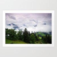 Mountain View I. Art Print