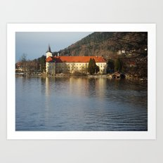 Tegernsee Germany Art Print
