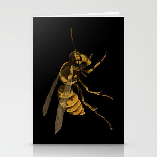little wasp  Stationery Card