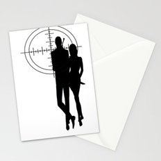 Double Oh Target... Stationery Cards