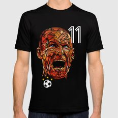 ROBBEN Black SMALL Mens Fitted Tee