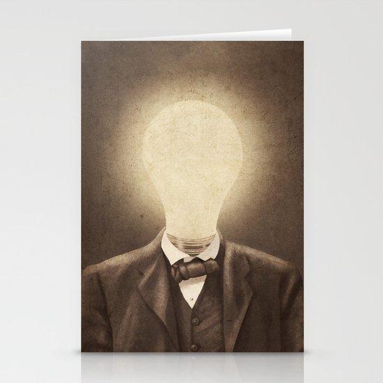 The Idea Man  Stationery Card