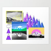 Mountain Study Art Print