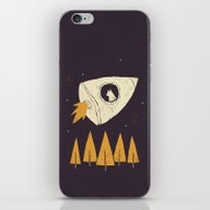 Laika(purple) iPhone & iPod Skin