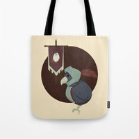 Warrior Bird Tote Bag
