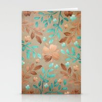 Copper Autumn Stationery Cards