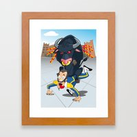 Bullfighter Framed Art Print