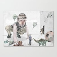 Invasion of the party pooper Canvas Print