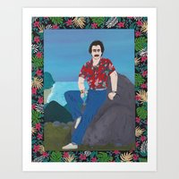 Magnum / Hawaii Art Print