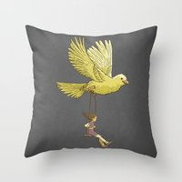 Higher... Up To The Sky!… Throw Pillow