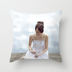 Clouds 2 Throw Pillow