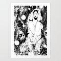 B & W  No.5 Art Print