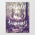New Adventures Canvas Print