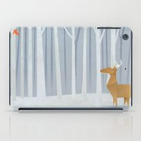 Origami Deer In The Wood… iPad Case