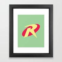 Robin Pastel Framed Art Print