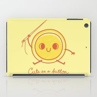 Cute as a button! iPad Case