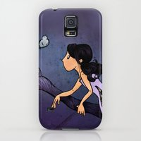 Galaxy S5 Cases featuring Out on a Limb by Lunar Fox