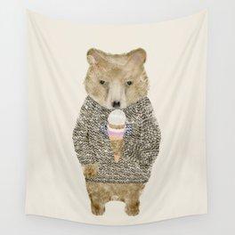 Wall Tapestry - sundae bear - bri.buckley