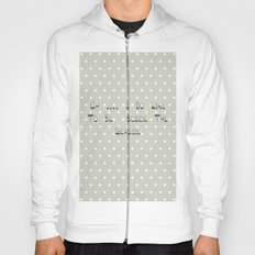 Oh .... i do like to be beside the seaside ~ polka dot ~ poster ~ typography ~ illistration Hoody