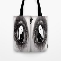 7 Eye Collection: Yin Yang In Your Eyes Tote Bag
