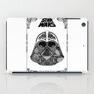 Dark Vador (with Frame) iPad Case