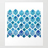 Ice House Art Print