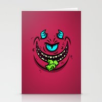 HORN MONSTER Stationery Cards