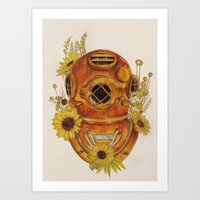 To Sink Art Print