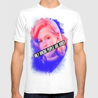January Jones As Betty D… Mens Fitted Tee White SMALL