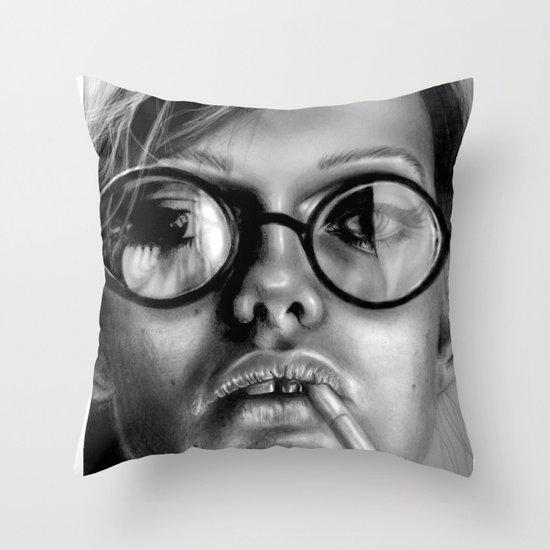 +Somewhat Damaged+ Throw Pillow