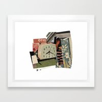 otis Framed Art Print
