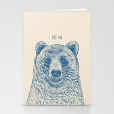 Bear (Ivory) Stationery Cards