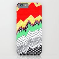 iPhone & iPod Case featuring Isometric Harlequin #1 by KATE KOSEK
