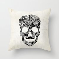 My Skull Throw Pillow