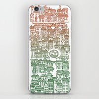 Autumn city iPhone & iPod Skin