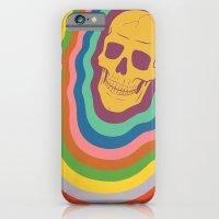 Trippy Rainbow Skull iPhone 6 Slim Case