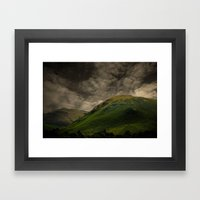 The Lakes Framed Art Print