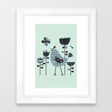 Chirpy Chirp Tweet Framed Art Print
