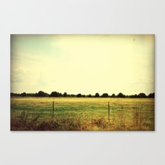 Fields of Fall Canvas Print