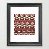 Tribal New World  Framed Art Print