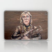 Log Lady / Twin Peaks Laptop & iPad Skin
