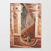 Inner Cities: Hall Of Th… Canvas Print