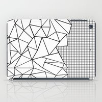 Abstraction Outline Grid… iPad Case