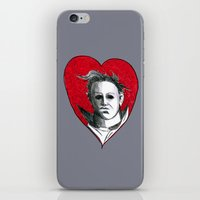 Micheal Myers (All Heart) iPhone & iPod Skin